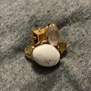 Kate Spade Gold Statement Ring